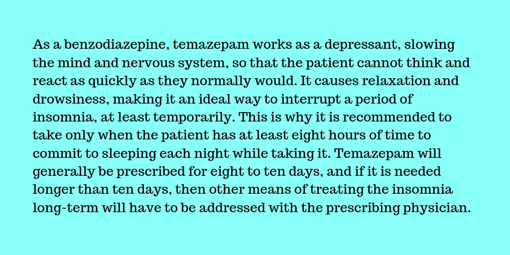 Temazepam addiction